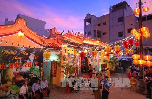芹苴市协天宫被公认为国家级艺术建筑遗迹 hinh anh 2