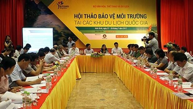越南加强国家旅游区环境保护工作 hinh anh 1