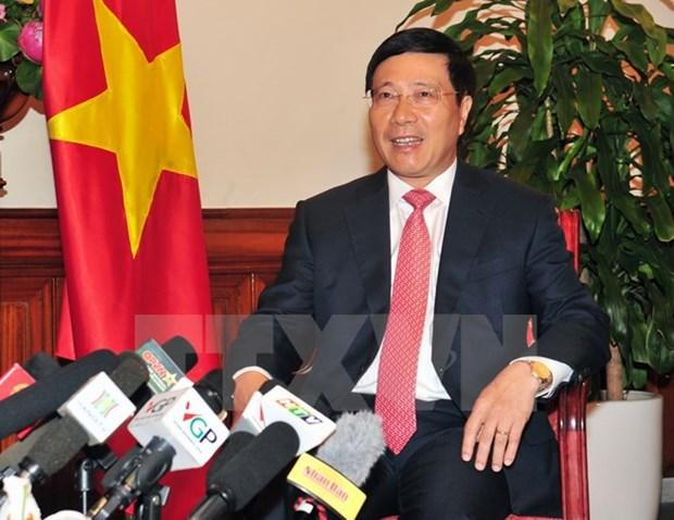 范平明副总理:建设自立自强、团结协作、发挥核心作用的东盟共同体 hinh anh 1