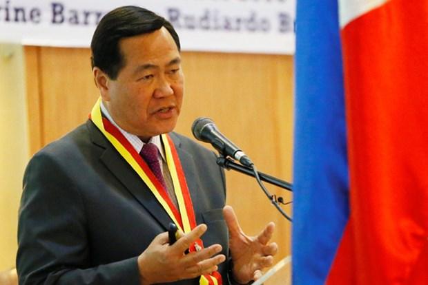 菲律宾大法官:与中国联营对西部海域进行开发是违宪 hinh anh 1