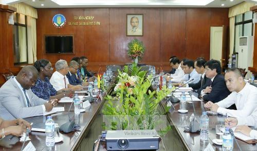 越南与莫桑比克加大农业合作的力度 hinh anh 1