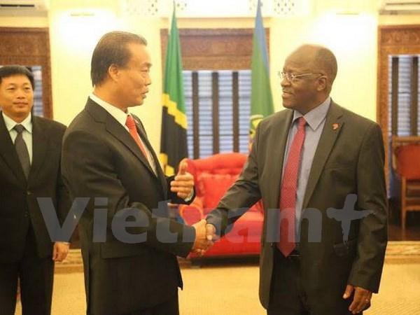 坦桑尼亚将为越南投资商创造一切便利条件 hinh anh 1