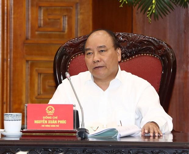阮春福总理:特别经济行政区应发挥比较优势 加大引资力度 hinh anh 1