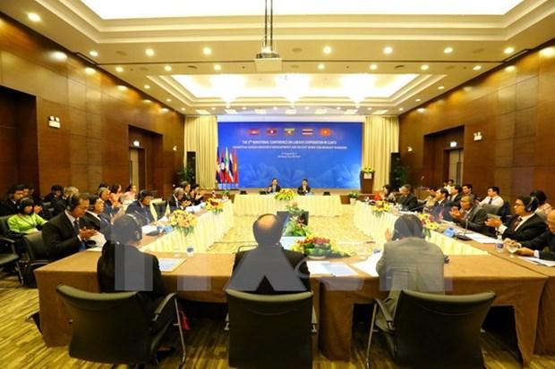 柬老缅越泰劳动合作部长级会议:促进移民劳动者可持续就业 hinh anh 1
