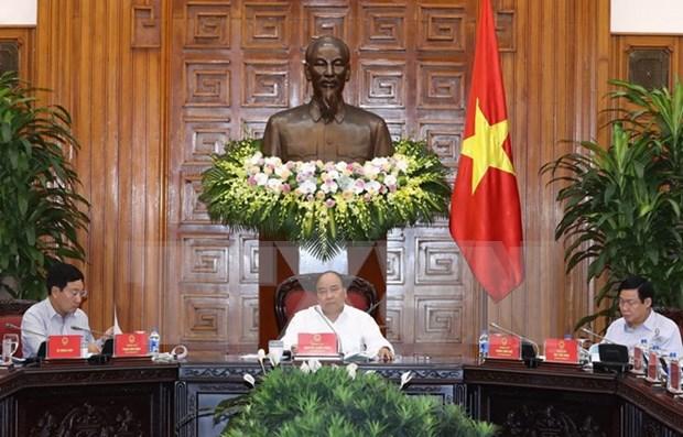 阮春福总理:加快官方发展援助资金到位进度 hinh anh 1