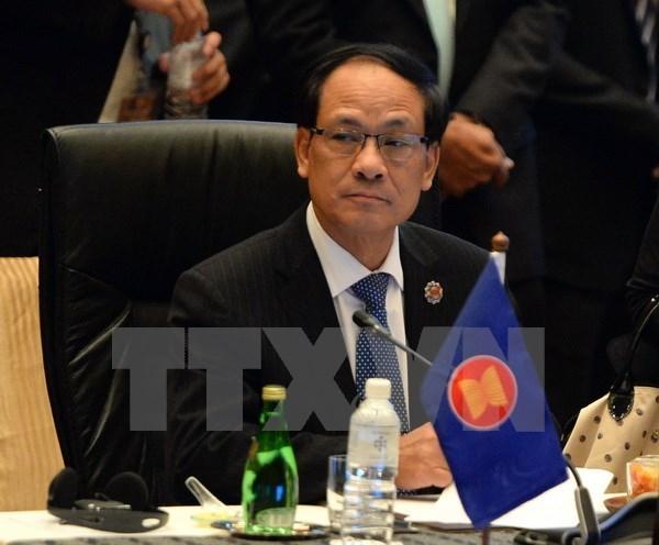 东盟秘书长黎良明:充分发挥东盟在谈判解决区域纠纷中的核心作用 hinh anh 1