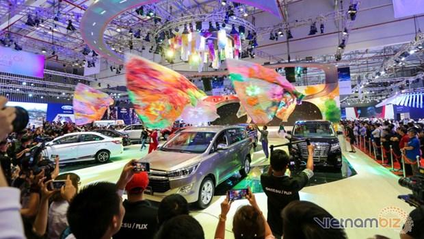 2017年越南汽车展览会在胡志明市举行 hinh anh 1