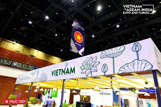 越南企业参加东盟-印度国际贸易博览会 hinh anh 1