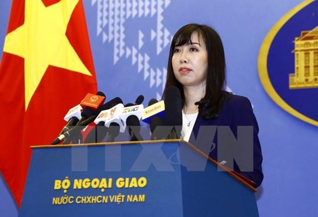 外交部发言人:越南对德国外交部发言人所发表的言论深表遗憾 hinh anh 1