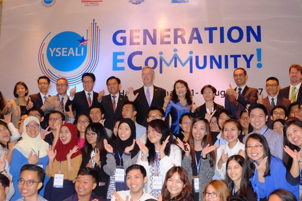 东南亚青年领袖倡议电子社区研讨会在越南举行 hinh anh 1