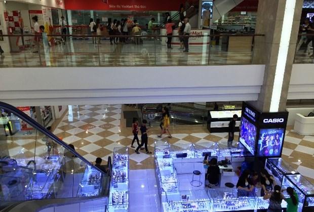 2017年上半年胡志明市社会消费品零售总额增长10.2% hinh anh 1