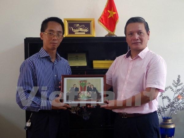 越通社为巩固越南与阿尔及利亚传统友谊作出积极贡献 hinh anh 1