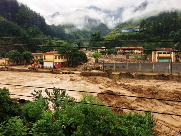 越南红十字会紧急救助暴雨洪水中的灾民 hinh anh 1