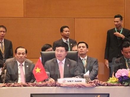 第50届东盟外长会议开幕 范平明副总理率团与会 hinh anh 1