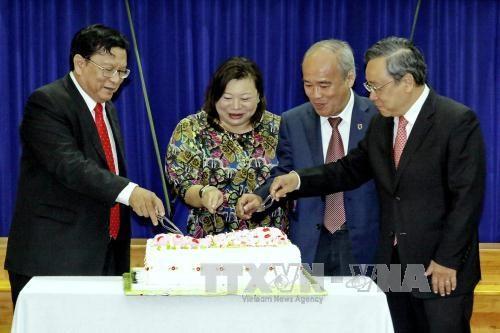 新加坡国庆52周年的纪念活动在胡志明市举行 hinh anh 1