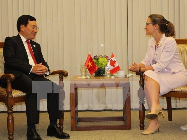 加拿大承诺继续协助越南提高应对气候变化能力 hinh anh 1