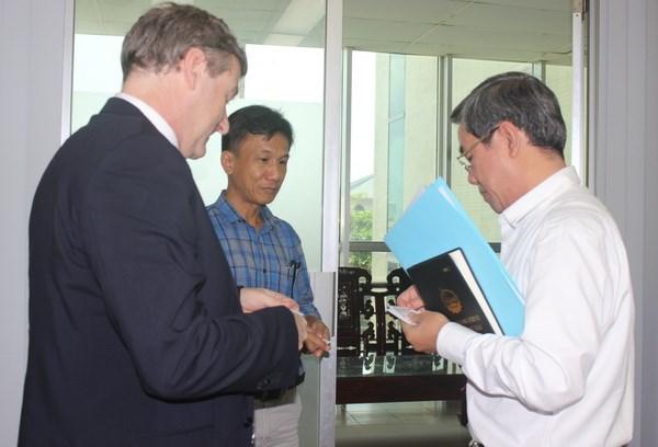 泰国暹罗城水泥集团欲同越南同奈省进行合作 hinh anh 1