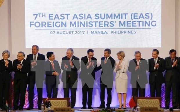 第50届东盟外长会:东亚峰会集中加强地区互联互通 hinh anh 1