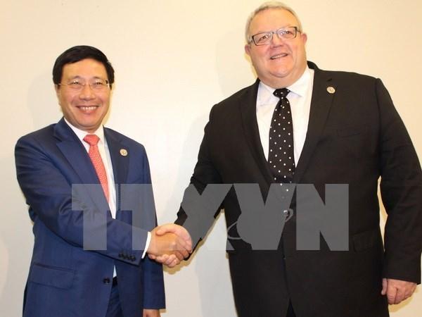 越南加强与欧盟国家的合作 hinh anh 1