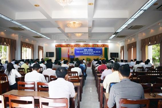 越南海洋岛屿:坚江省加大边界海洋岛屿法律的宣传力度 hinh anh 2