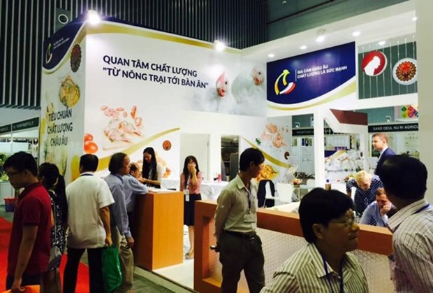 500多家企业参加胡志明市食品饮料展览会 hinh anh 1
