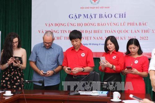 越南各中央机关纷纷捐款帮助西北地区洪水受灾群众 hinh anh 2