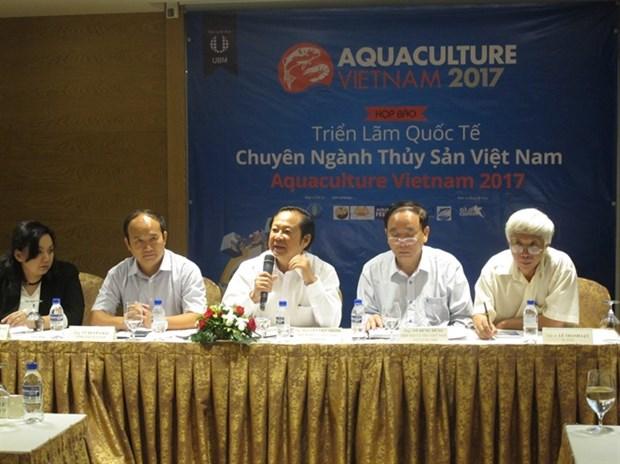 越南国际渔业博览会将于10月底举行 hinh anh 1