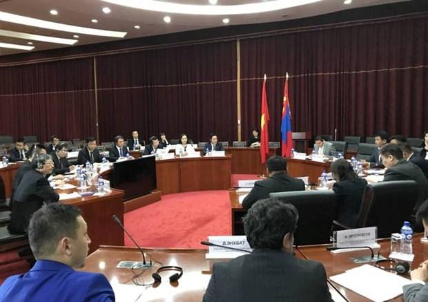 越南和蒙古加强经济和科技合作 hinh anh 1
