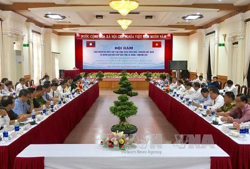 越南承天顺化省与老挝色贡省加强合作 hinh anh 1