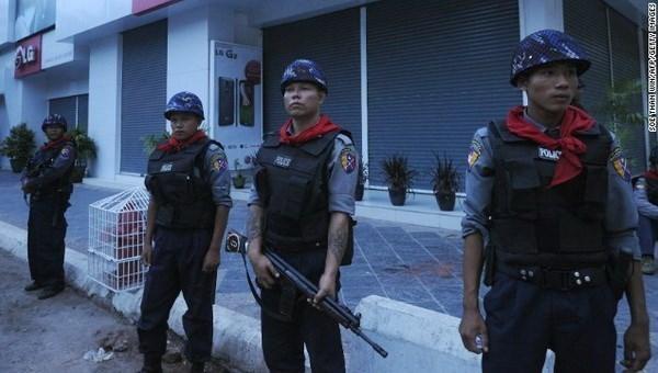 缅甸在金三角缴获大量合成毒品 hinh anh 1