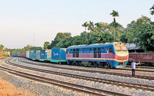 中国广州、凭祥至越南同登、安园国际铁路集装箱联运班列即将开通 hinh anh 1