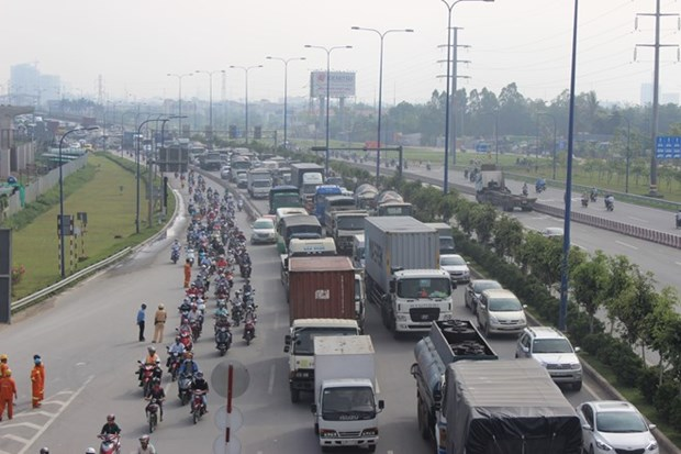 胡志明市将投入6万亿越盾建设智能交通调度中心 hinh anh 1