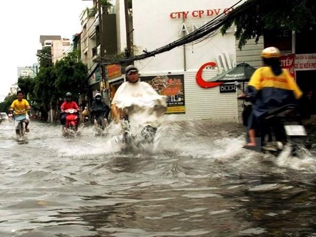 日本协助河内提升防内涝和排水的能力 hinh anh 1