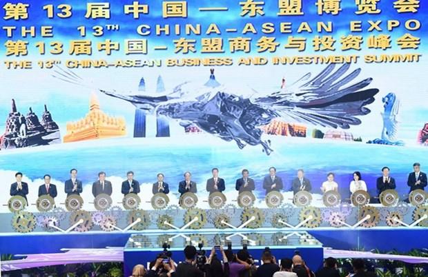 东盟与中国战略伙伴关系26年历程回顾 hinh anh 1