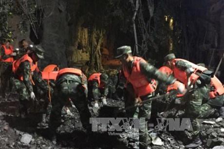 各家旅游公司应调整至中国地震灾区各旅游计划 确保越南游客的安全 hinh anh 1