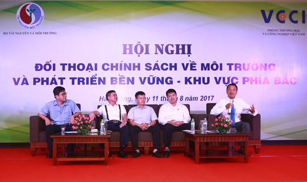 环境与可持续发展政策对话在海防市举行 hinh anh 1
