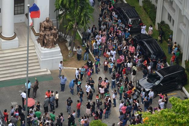 菲律宾吕宋岛附近发生6.3级地震 尚无伤亡人员报告 hinh anh 1