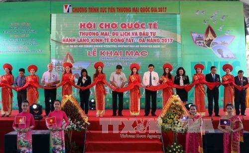 2017年岘港国际东西经济走廊贸易与旅游投资展览会正式开幕 hinh anh 1