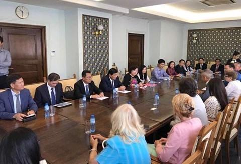 呼吁保加利亚企业加大对河内的投资 hinh anh 1