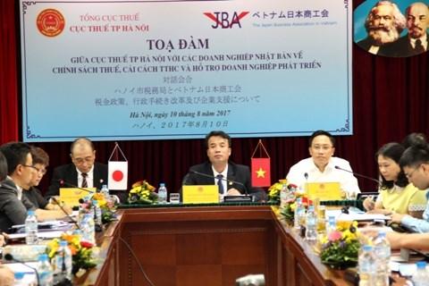 河内市向越南日资企业分享税务政策与法律的相关信息 hinh anh 1