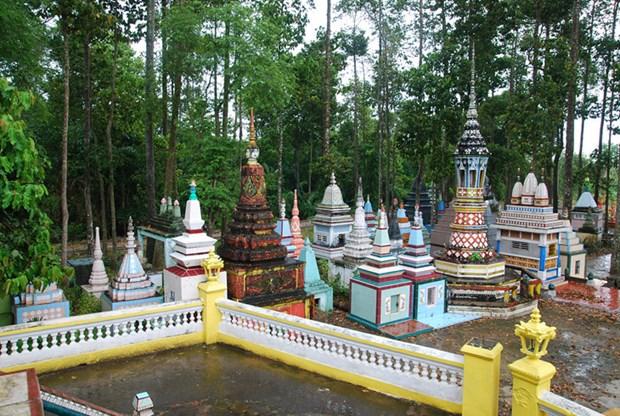 朔庄省的高棉族寺庙 hinh anh 2