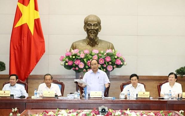 阮春福总理:切实增强责任意识 努力完成增长目标 hinh anh 2