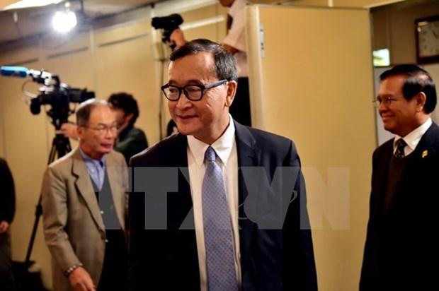 柬埔寨二审法院保持金边市一审法院对桑兰西所作出的判决 hinh anh 1