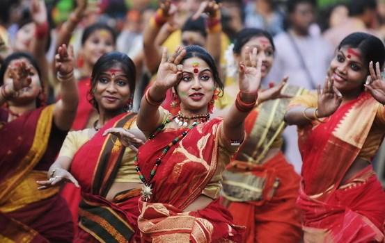 印度文化节在清化省举行 广受游客的关注 hinh anh 1