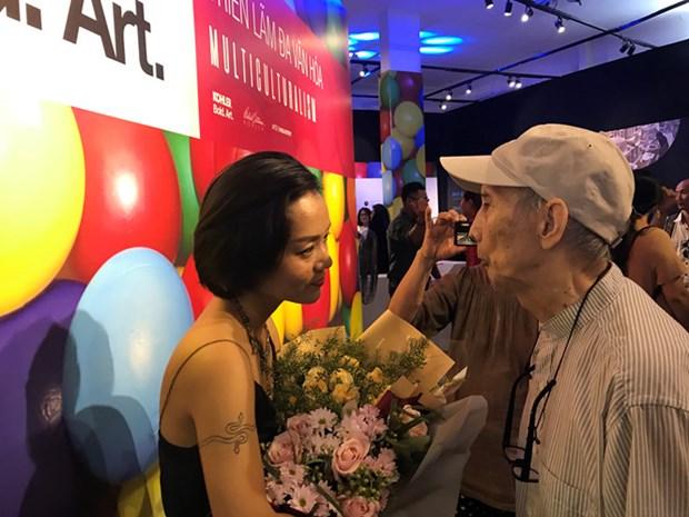 大胆艺术展展出各国文化的多样性 hinh anh 1