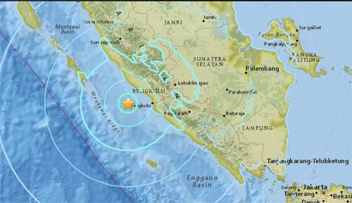 印尼明古鲁省发生6.6级地震 hinh anh 1