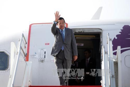 老挝与柬埔寨就解决边境问题的措施达成一致 hinh anh 1