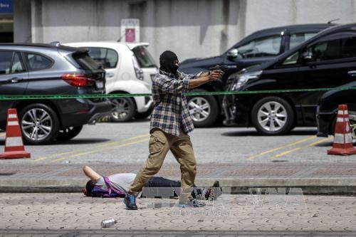 第29届东南亚运动会:马来西亚加大打击犯罪力度 hinh anh 3