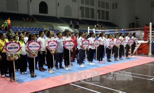 300多名运动员参加第26次越南全国传统武术锦标赛 hinh anh 2