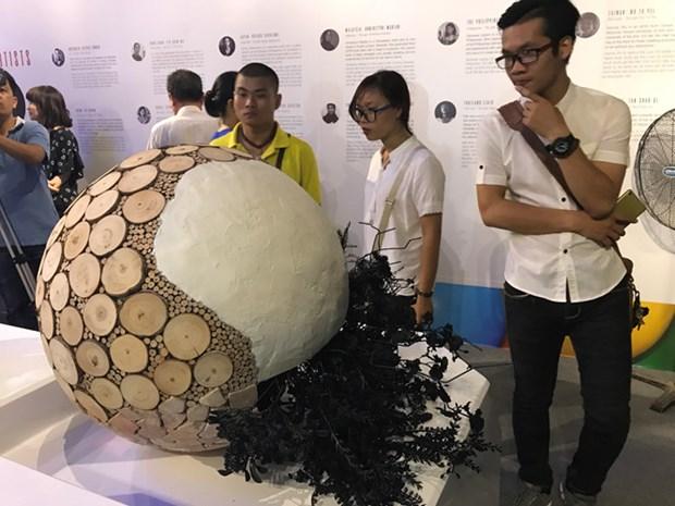 大胆艺术展展出各国文化的多样性 hinh anh 4